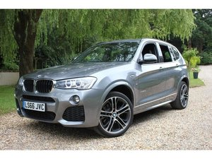 2016 BMW X3 2.0 20d M Sport Sport Auto xDrive 5dr AS NEW, IMMACUL