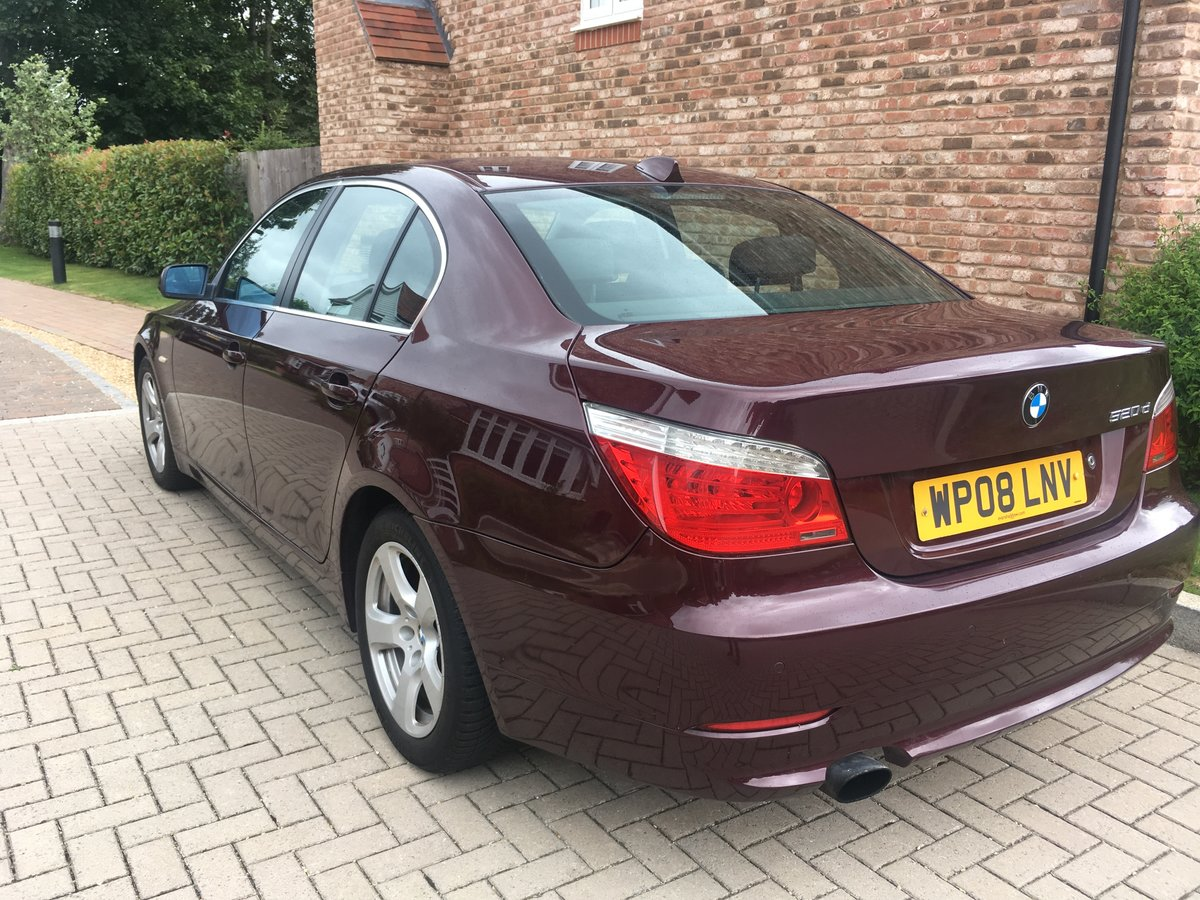 2008 BMW 520d SE For Sale (picture 5 of 6)
