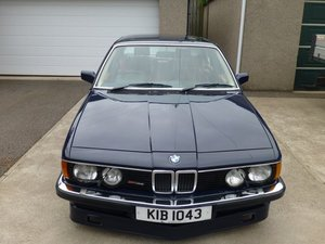 1985 BMW E23 B10 Alpina 7 Series at ACA 24th August