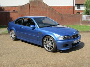 2004 BMW E46 M3 Individual Coupe at ACA 24th August