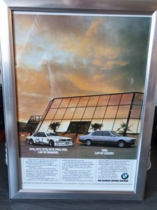 1981 BMW 7 Series advert Original