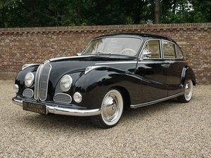 1956 BMW 501 / 502 V8 'Barock Engel' fully restored condition For Sale