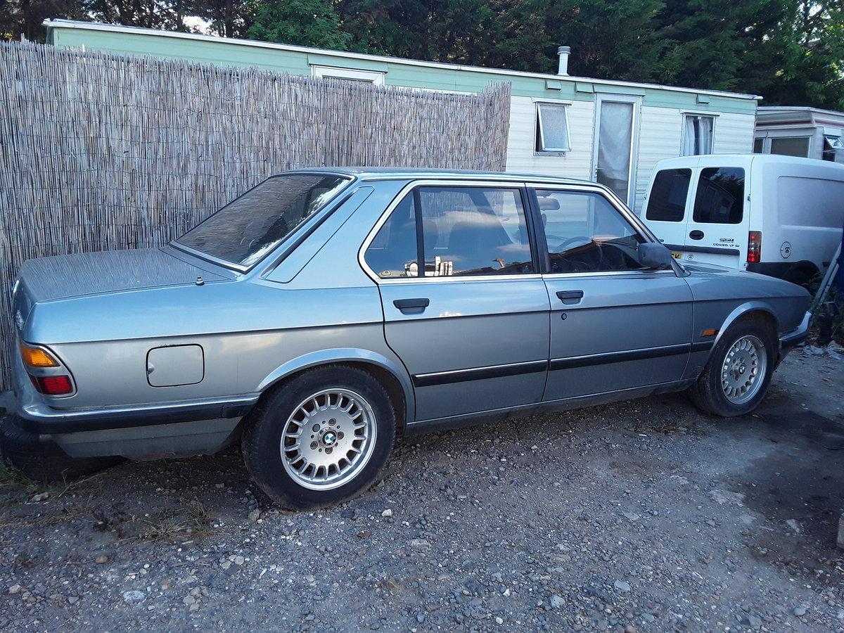 1985 BMW E28 528I SE For Sale (picture 1 of 6)