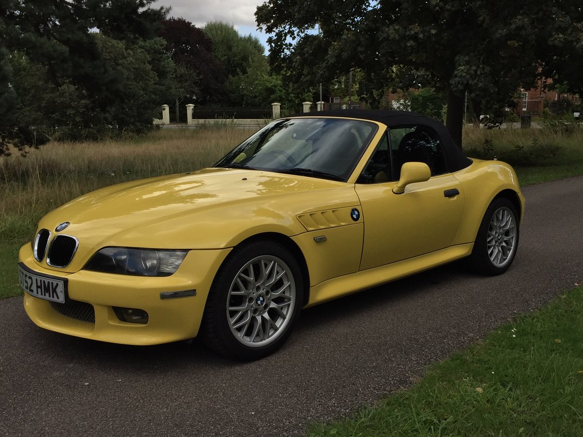 2002 Z3 M-sport 2.2 individual 92,500 Miles For Sale (picture 1 of 6)