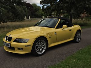 2002 Z3 M-sport 2.2 individual Dakar Yellow For Sale