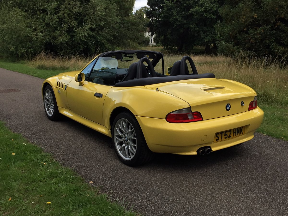 2002 Z3 M-sport 2.2 individual 92,500 Miles For Sale (picture 2 of 6)