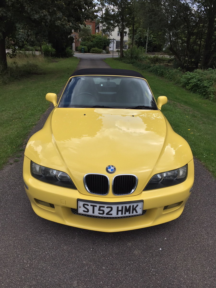 2002 Z3 M-sport 2.2 individual 92,500 Miles For Sale (picture 5 of 6)