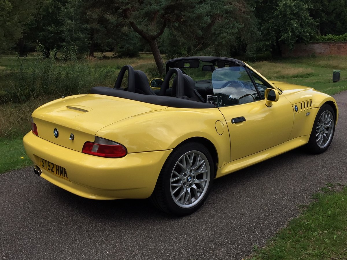 2002 Z3 M-sport 2.2 individual 92,500 Miles For Sale (picture 4 of 6)