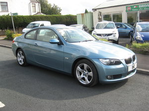 2008 58-reg BMW 320 2.0i SE Coupe manual finished in Atlanti For Sale
