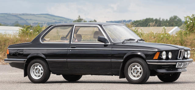 1982 BMW 316 SPORTS SALOON For Sale by Auction