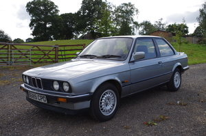 1987 BMW 320i Coupe Manual Lachssilber Metallic For Sale