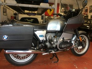 1981 BMW R100 RT, twinshock SOLD