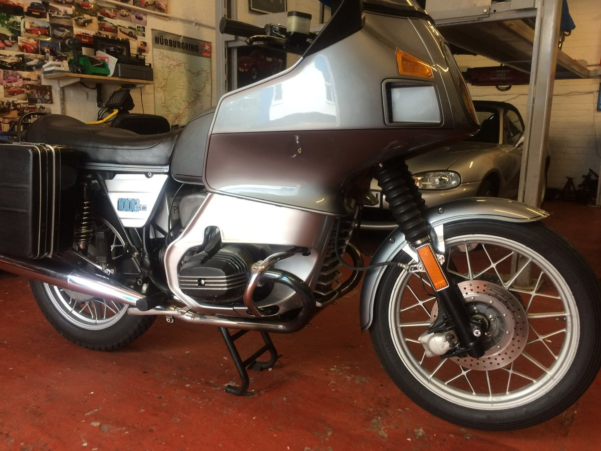 1981 BMW R100 RT, twinshock SOLD (picture 4 of 6)
