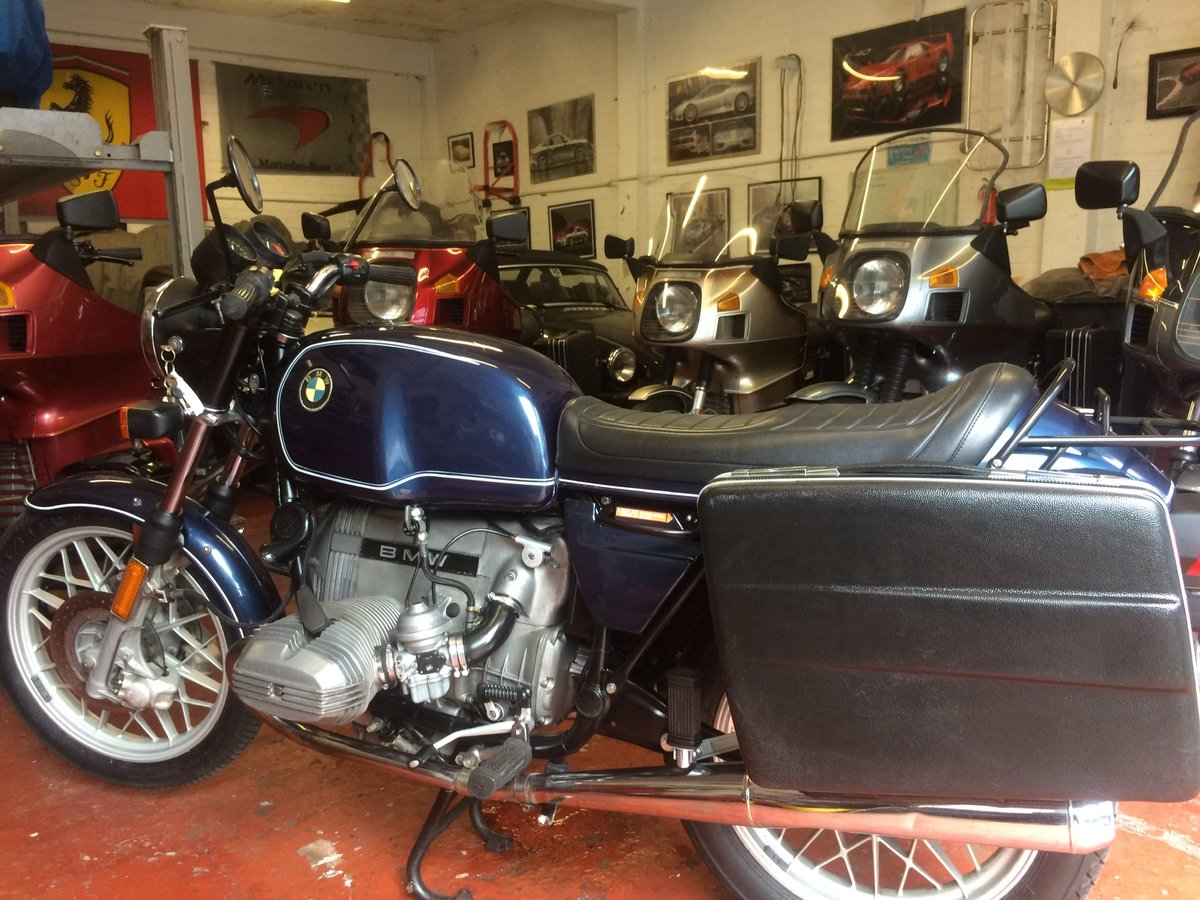 1981 BMW R100 RT, twinshock SOLD (picture 6 of 6)