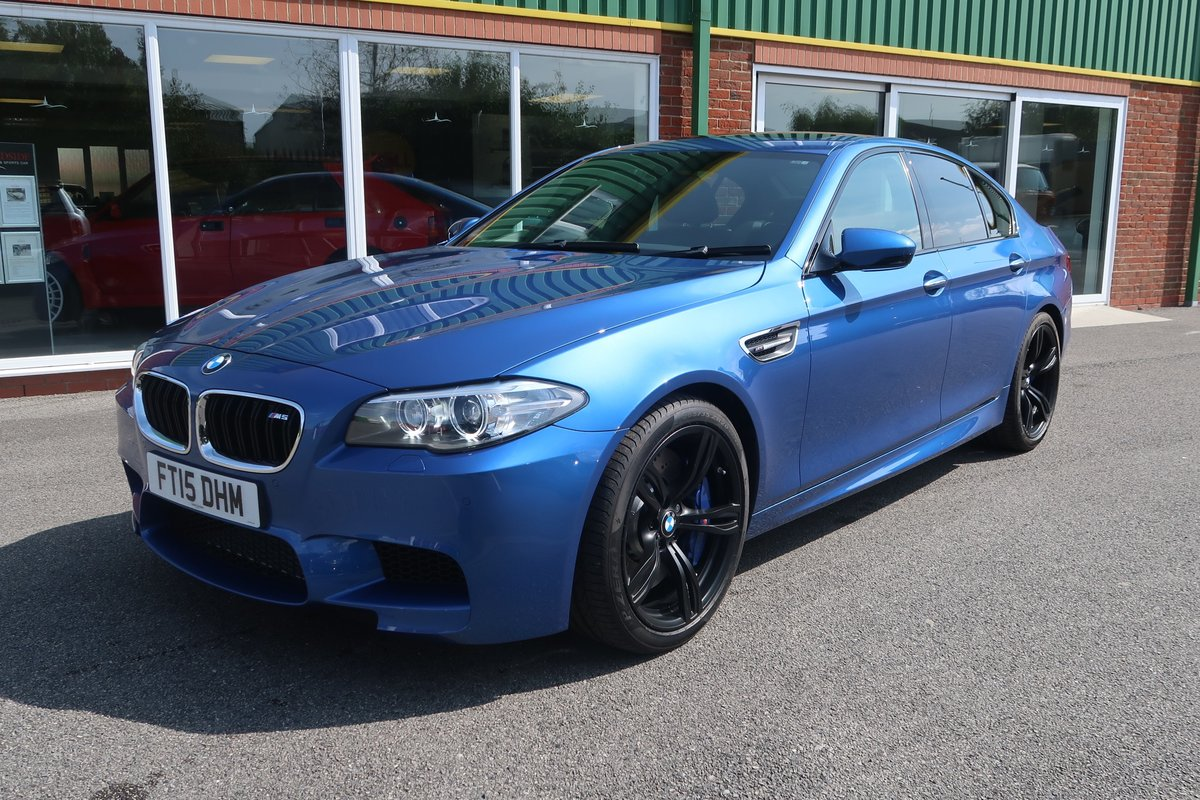 2015 M5 4.4 V8 DCT Auto 3,100 MILES FROM NEW For Sale (picture 1 of 6)