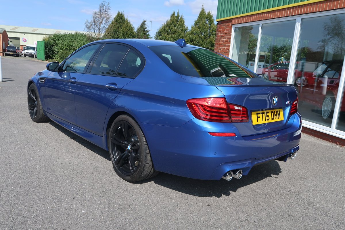 2015 M5 4.4 V8 DCT Auto 3,100 MILES FROM NEW For Sale (picture 2 of 6)