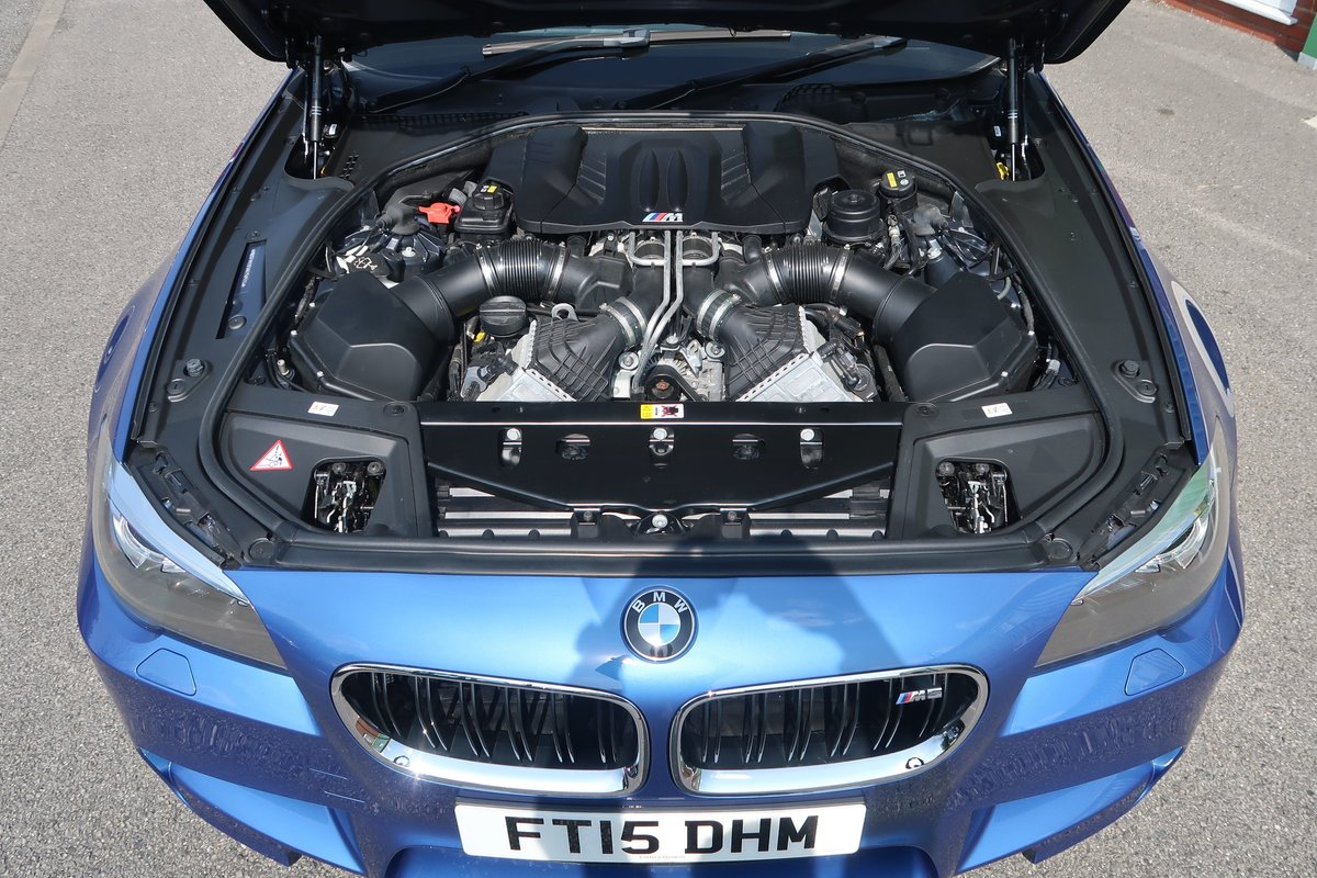 2015 M5 4.4 V8 DCT Auto 3,100 MILES FROM NEW For Sale (picture 6 of 6)