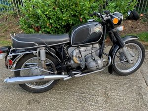 To be sold Thursday 29th August 2019- 1973 BMW R60/5 600cc For Sale by Auction