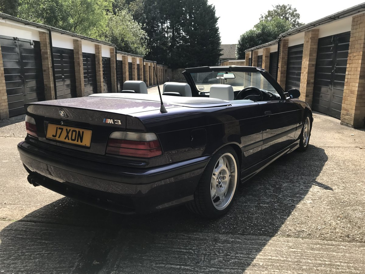 1994 BMW E36 M3 3.0 Convertible For Sale (picture 2 of 6)