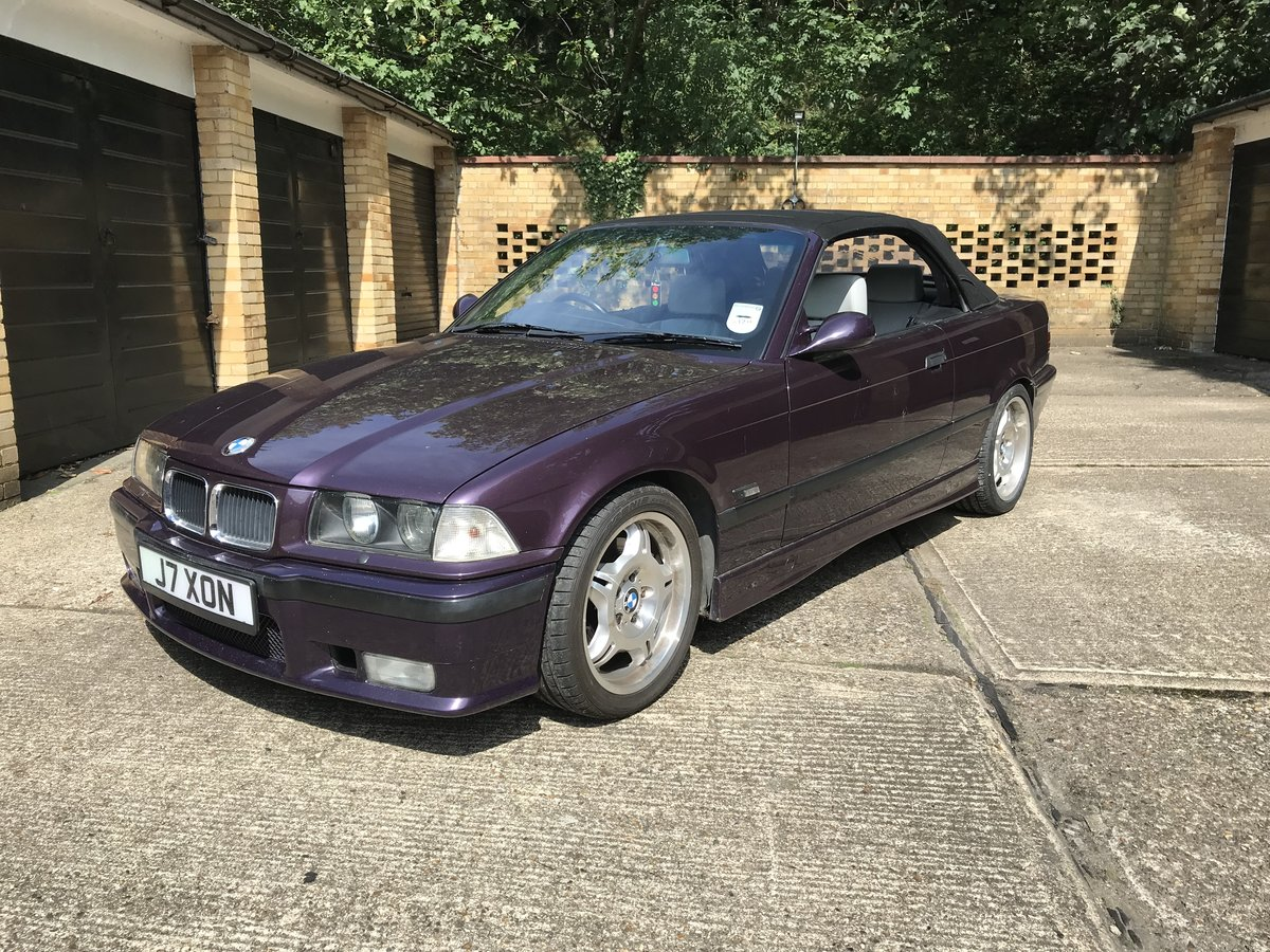 1994 BMW E36 M3 3.0 Convertible For Sale (picture 3 of 6)