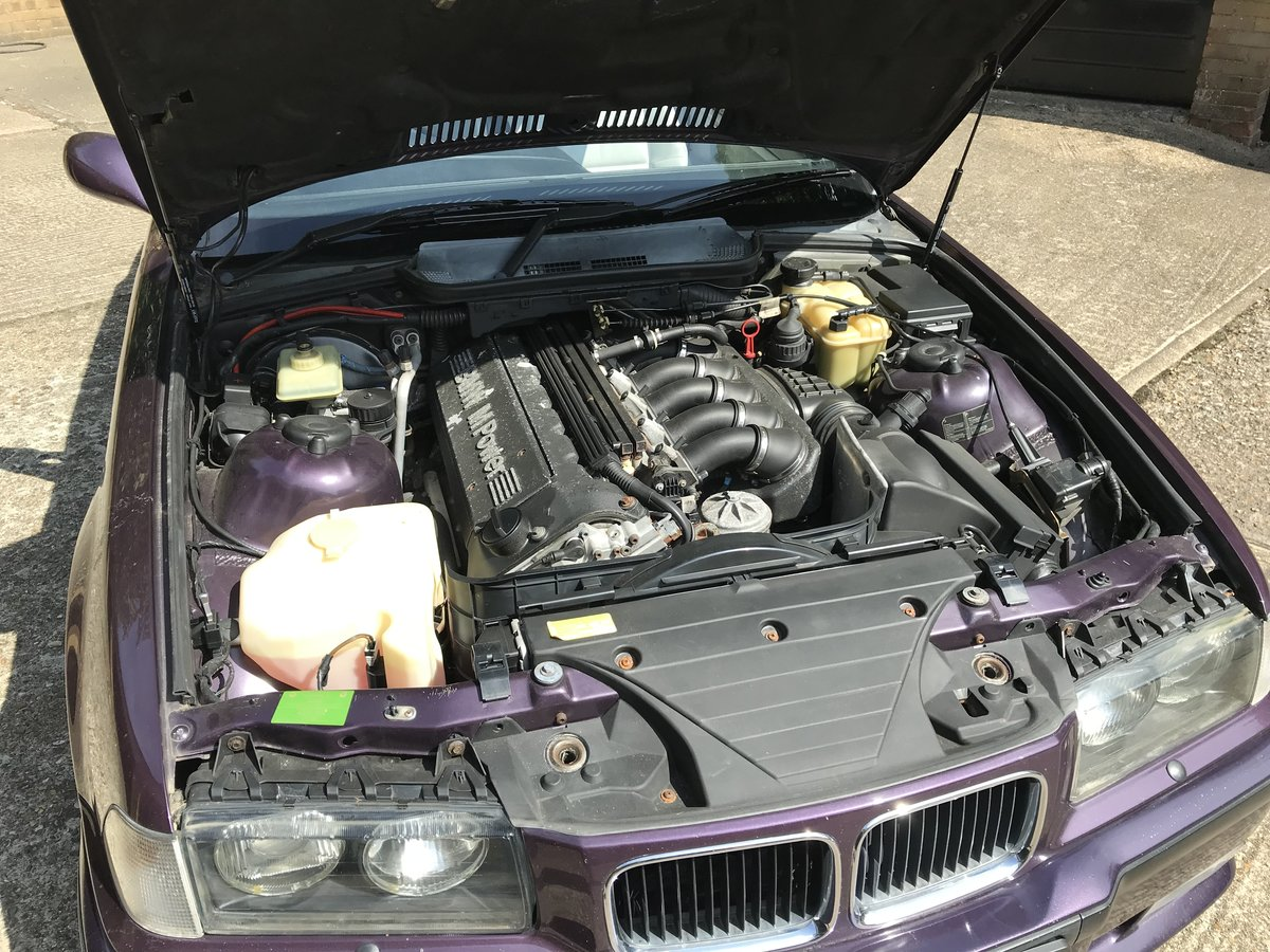 1994 BMW E36 M3 3.0 Convertible For Sale (picture 5 of 6)