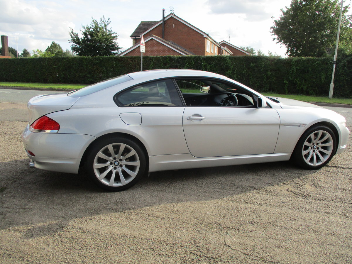 2007 SMART BMW 6 SERIES 3LT PETROL COUPE 99K F.S.H AGUST 2020 MOT For Sale (picture 1 of 6)