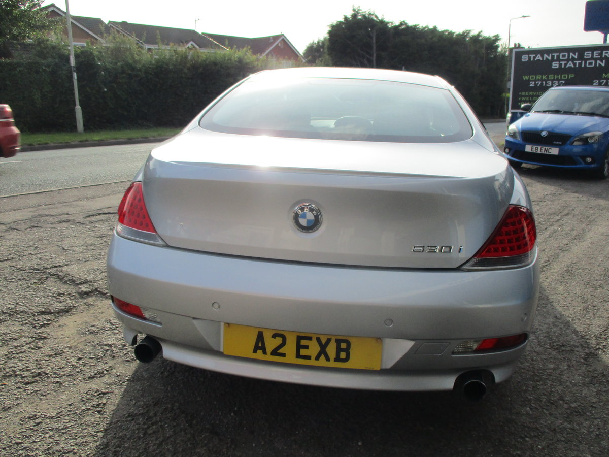 2007 SMART BMW 6 SERIES 3LT PETROL COUPE 99K F.S.H AGUST 2020 MOT For Sale (picture 2 of 6)