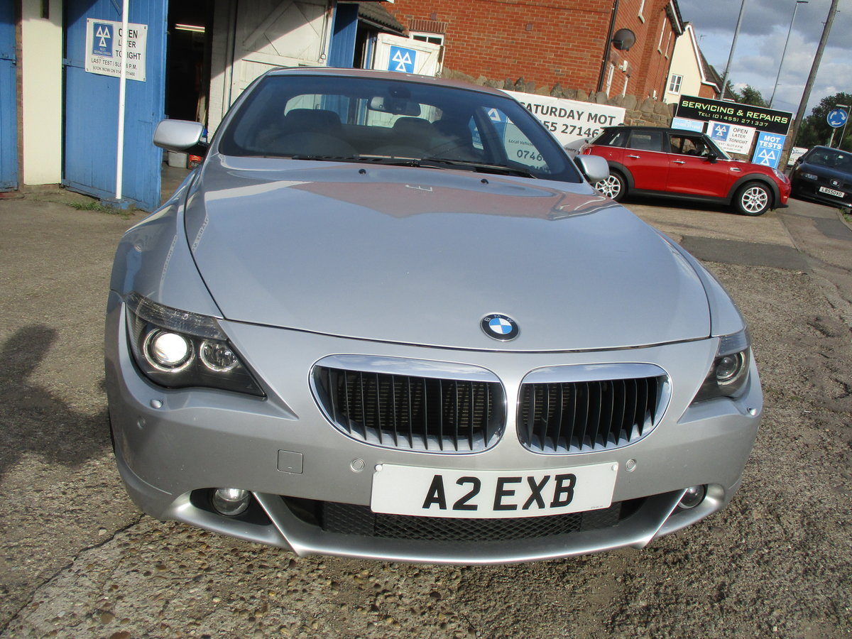 2007 SMART BMW 6 SERIES 3LT PETROL COUPE 99K F.S.H AGUST 2020 MOT For Sale (picture 3 of 6)
