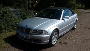 BMW 330 CI  SE CONVERTIBLE   2002  87000 miles For Sale