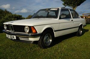 1982 BMW E21 316 1.8 Auto only 60k - timewarp condition For Sale