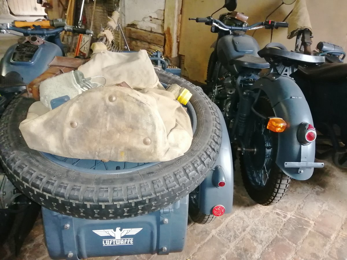 1975 BMW Wehrmacht replica  with sidecar For Sale (picture 5 of 6)