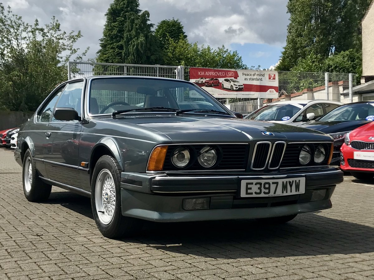 1988 BMW 635 csi Project For Sale (picture 1 of 6)