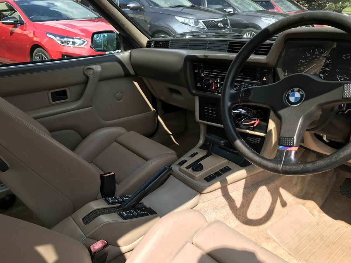 1988 BMW 635 csi Project For Sale (picture 4 of 6)