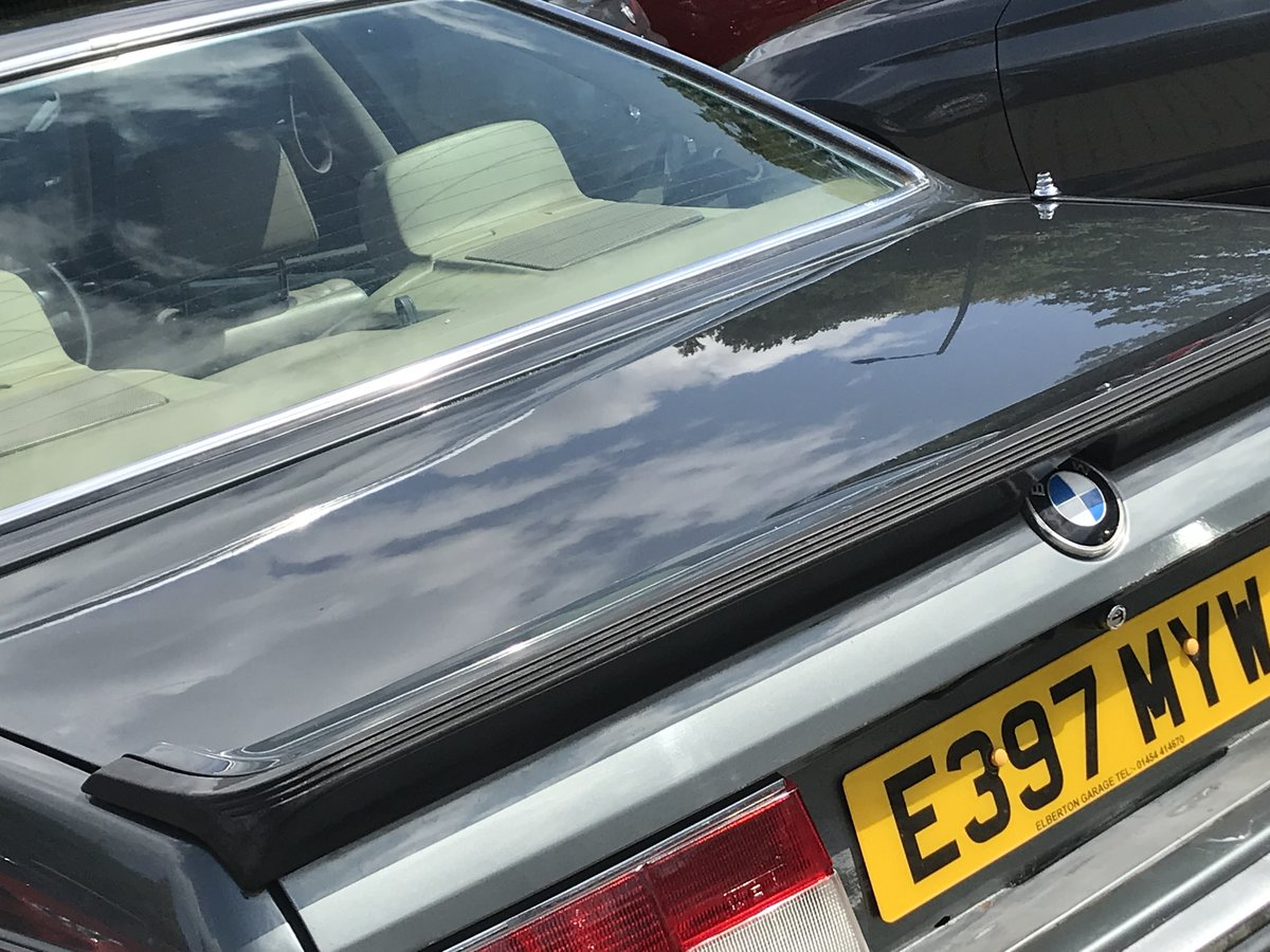 1988 BMW 635 csi Project For Sale (picture 6 of 6)