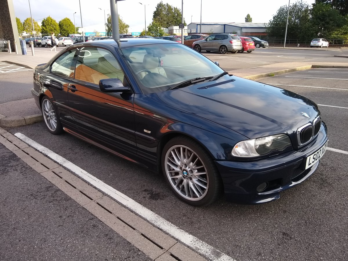 2002 BMW E46 M Sport, 330ci FSH, excellent condition For Sale (picture 1 of 6)