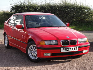 1997 BMW E36 316i Compact, Manual, 89k Miles, Red, MOT: January SOLD