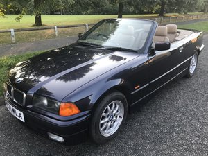 1998 BMW 323i auto convertible E36 low miles For Sale