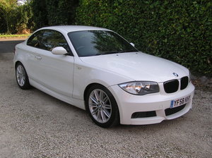 2008 BMW 1 Series 2.0 120d M Sport 2dr coupe For Sale