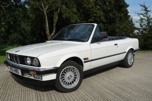 1990 BMW e30 325I CONVERTIBLE 5 SPD MANUAL For Sale