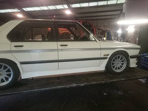 1984 E28 Hartge H5SP Prototype. For Sale