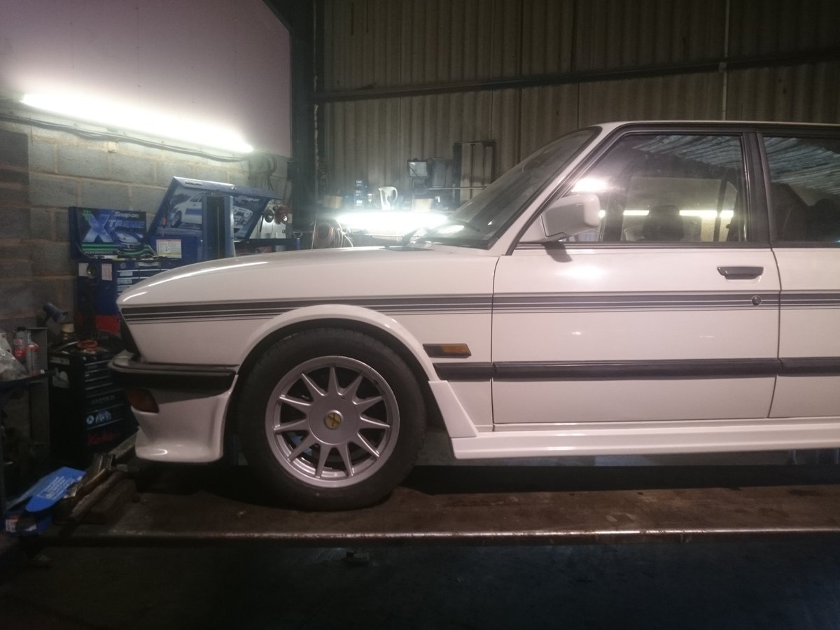 1984 E28 Hartge H5SP Prototype. For Sale (picture 3 of 6)