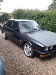 1986 M535i - driving project with recent MOT