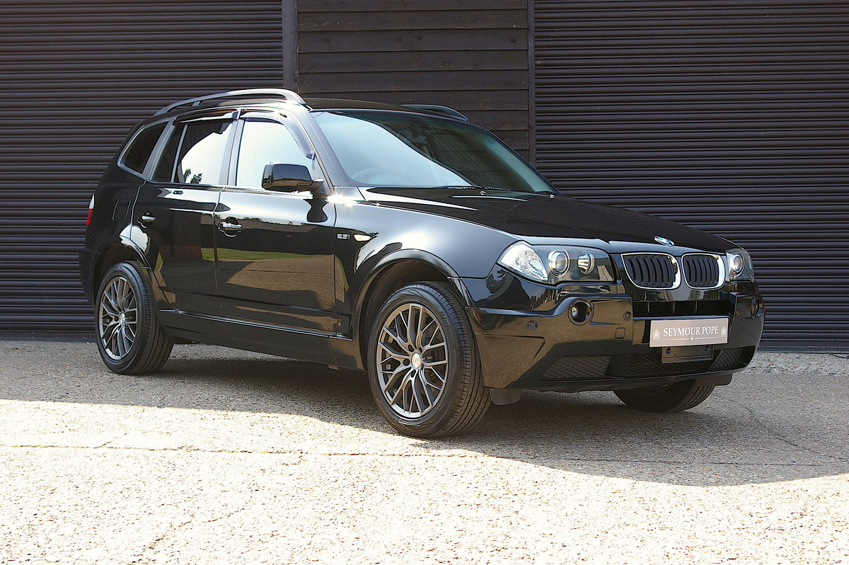 2006 BMW X3 2.5i Automatic 4WD (44,481 miles) SOLD (picture 1 of 6)
