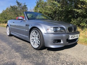 2004 BMW E46 M3 convertible manual only 88000 mile For Sale