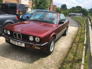 1990 BMW 325i Cabriolet For Sale