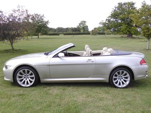 2007 BMW 630i Sport Auto Convertible SOLD