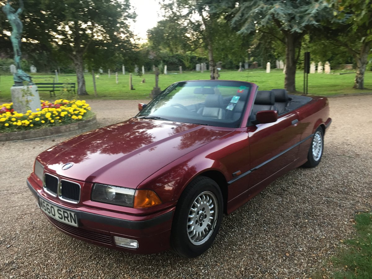 1994 BMW E36 325i Convertible Beautiful Example SOLD   Car