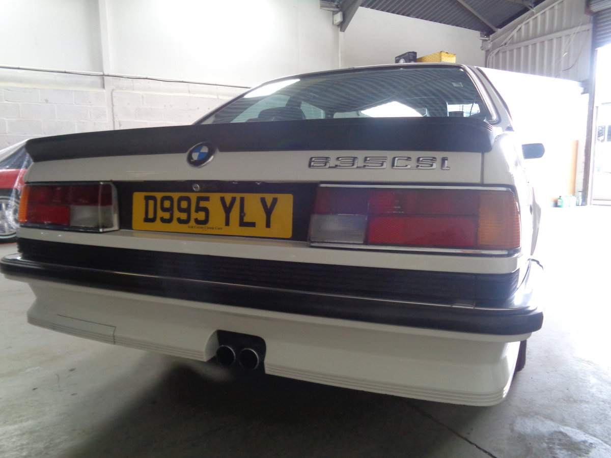bmw 635 csi auto  1986/d reg. Lovely  For Sale (picture 6 of 6)