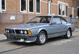 1982 BMW 635 CSi For Sale In London (RHD) For Sale in London