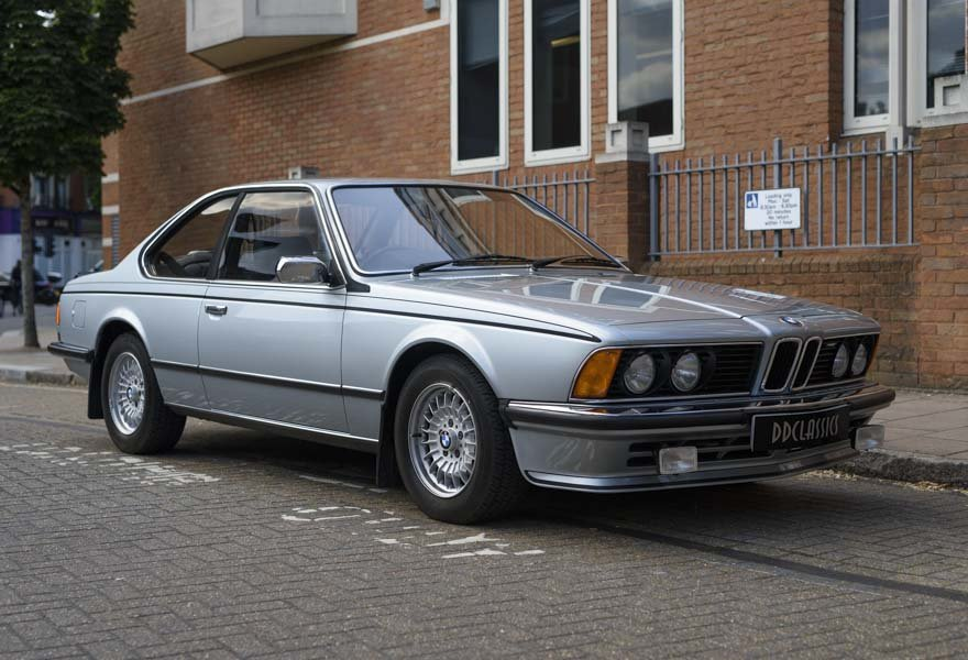 1982 BMW 635 CSiFor Sale In London (RHD) For Sale in London For Sale (picture 2 of 24)